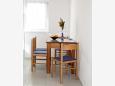 Mimice, Dining room u smještaju tipa studio-apartment, WIFI.