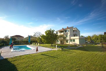 Property Nin (Zadar) - Accommodation 6560 - Apartments near sea with sandy beach.