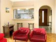 Maslenica, Living room u smještaju tipa apartment, dostupna klima.