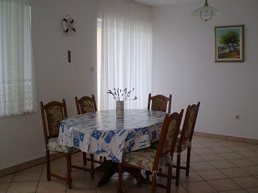 Mandre, Dining room u smještaju tipa apartment, WIFI.