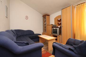 Starigrad, Living room u smještaju tipa apartment, WIFI.