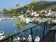 Shared terrace - view - Apartment A-6597-b - Apartments Seget Vranjica (Trogir) - 6597