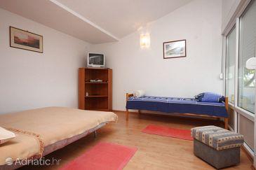 Maslenica, Living room u smještaju tipa apartment, dopusteni kucni ljubimci i WIFI.