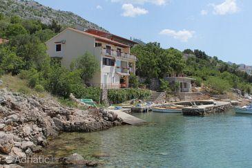 Property Lađin Porat (Paklenica) - Accommodation 6631 - Apartments near sea.