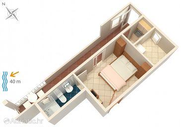 Apartment A-6656-c - Apartments Tučepi (Makarska) - 6656