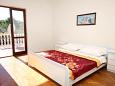 Bedroom 1 - Apartment A-666-a - Apartments Privlaka (Zadar) - 666
