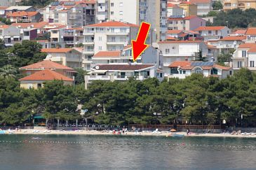 Property Makarska (Makarska) - Accommodation 6666 - Apartments near sea with pebble beach.