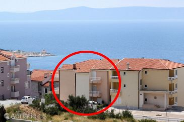 Property Makarska (Makarska) - Accommodation 6667 - Apartments with pebble beach.