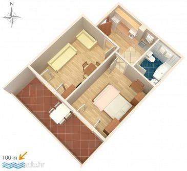 Apartment A-6672-a - Apartments Podgora (Makarska) - 6672