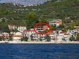 Property Podgora (Makarska) - Accommodation 6672 - Apartments near sea with pebble beach.