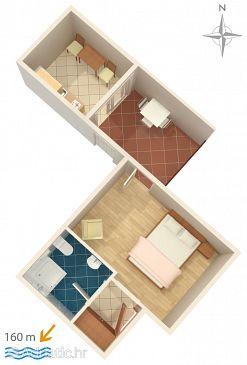 Apartment A-6678-b - Apartments Zaostrog (Makarska) - 6678