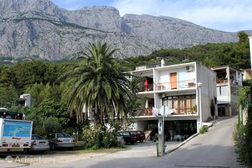 Property Tučepi (Makarska) - Accommodation 6695 - Apartments with pebble beach.