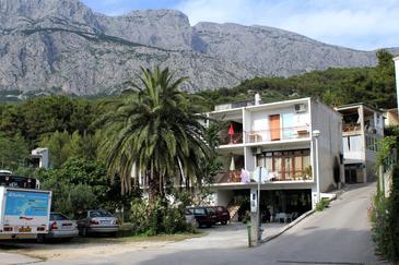 Obiekt Tučepi (Makarska) - Zakwaterowanie 6695 - Apartamenty ze żwirową plażą.
