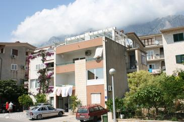 Property Makarska (Makarska) - Accommodation 6721 - Apartments with pebble beach.
