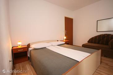 Živogošće - Blato, Bedroom u smještaju tipa room, dostupna klima, dopusteni kucni ljubimci i WIFI.