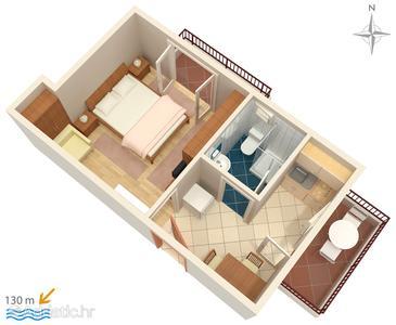 Apartment A-6760-b - Apartments Promajna (Makarska) - 6760