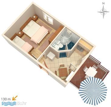Apartment A-6760-e - Apartments Promajna (Makarska) - 6760
