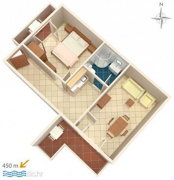 Apartment A-6763-b - Apartments Baška Voda (Makarska) - 6763