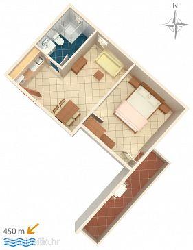 Apartment A-6763-d - Apartments Baška Voda (Makarska) - 6763