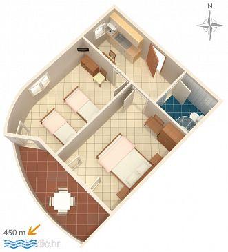 Apartment A-6763-g - Apartments Baška Voda (Makarska) - 6763
