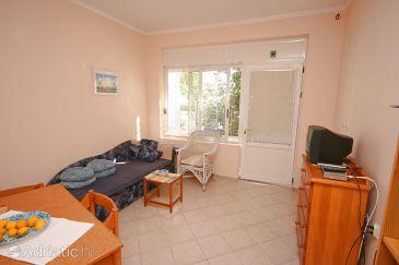 Podgora, Living room u smještaju tipa apartment, WIFI.