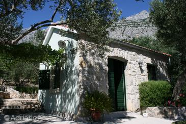 Property Puharići (Makarska) - Accommodation 6770 - Vacation Rentals with pebble beach.