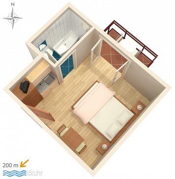 Studio flat AS-6773-c - Apartments Baška Voda (Makarska) - 6773