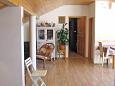 Kožino, Dining room u smještaju tipa apartment, dostupna klima i WIFI.