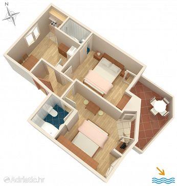 Apartment A-6781-a - Apartments Podgora (Makarska) - 6781