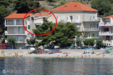 Property Podgora (Makarska) - Accommodation 6781 - Apartments near sea with pebble beach.