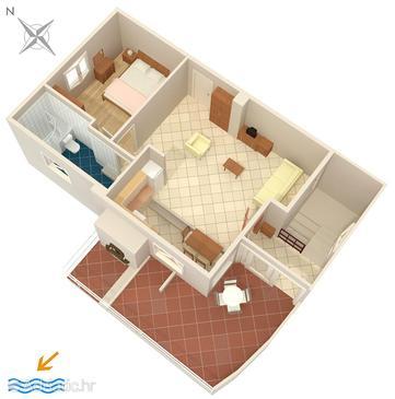 Apartment A-6785-a - Apartments Baška Voda (Makarska) - 6785