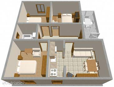 Apartment A-680-a - Apartments Bibinje (Zadar) - 680