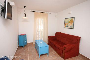 Podaca, Living room u smještaju tipa apartment, dopusteni kucni ljubimci i WIFI.