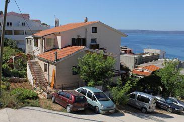 Obiekt Drašnice (Makarska) - Zakwaterowanie 6803 - Apartamenty blisko morza ze żwirową plażą.