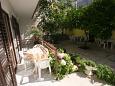 Terrace - Studio flat AS-6827-i - Apartments Baška Voda (Makarska) - 6827