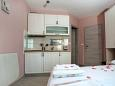 Kitchen - Studio flat AS-6849-b - Apartments Promajna (Makarska) - 6849