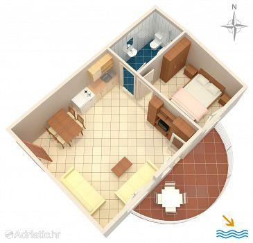 Apartment A-6863-a - Apartments Rastići (Čiovo) - 6863
