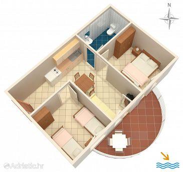 Apartment A-6863-f - Apartments Rastići (Čiovo) - 6863