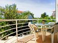Rastići, Balcony u smještaju tipa apartment, dopusteni kucni ljubimci i WIFI.