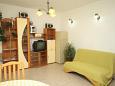 Living room - Apartment A-6868-b - Apartments Baška Voda (Makarska) - 6868