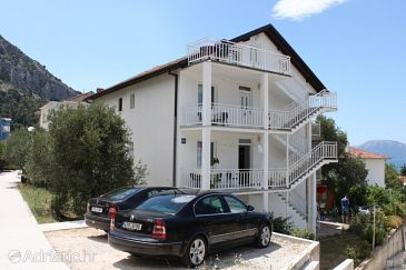 Property Gradac (Makarska) - Accommodation 6881 - Apartments with pebble beach.