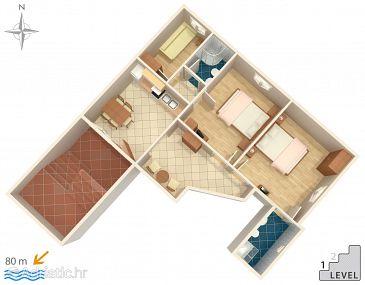 Apartment A-6882-a - Apartments Makarska (Makarska) - 6882