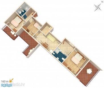 Apartment A-6892-a - Apartments Baška Voda (Makarska) - 6892