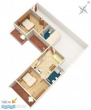 Apartment A-6892-b - Apartments Baška Voda (Makarska) - 6892