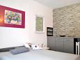Bedroom - Studio flat AS-6909-a - Apartments and Rooms Makarska (Makarska) - 6909