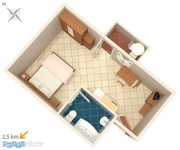 Studio flat AS-6926-c - Apartments Fiorini (Novigrad) - 6926