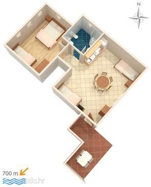 Apartment A-6932-c - Apartments Umag (Umag) - 6932