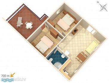 Apartment A-6950-a - Apartments Poreč (Poreč) - 6950