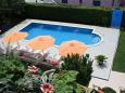 Courtyard Novigrad (Novigrad) - Accommodation 6951 - Apartments and Rooms with pebble beach.