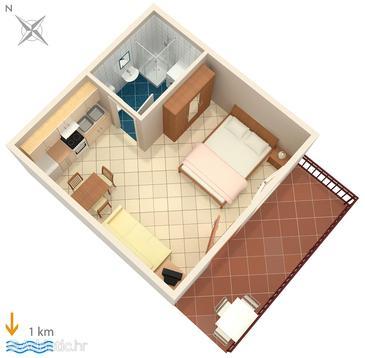 Studio flat AS-6986-a - Apartments Pula (Pula) - 6986